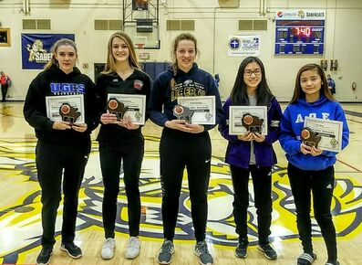 Ladies Basketball Awards - Wisconsin Association of Christian Schools